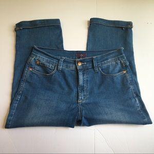 NYDJ cropped jeans